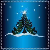 Christmas Holidays Card — Stok fotoğraf