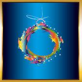 Colorido navidad ball.new año abstact — Foto de Stock