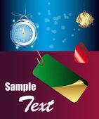 Nový rok banner.sale produkt — Stock vektor