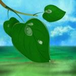 Ecology concept.Nature background — Stock Photo