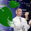 Stockfoto: Innovative designing ecological technologyInnovative designing ecological technology