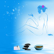 Body care and hair. Spa concept — Stock Photo #18168157