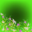 Abstract floral colorful background — Stock Photo