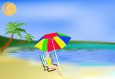 Romantic summer travel — Stock Photo