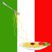 Traditional italian best food — Stock Photo