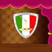 Traditionelle italienische beste essen spaghetti. restaurant-geschäft — Stockfoto