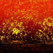 Eruption of the volcano.Abstract dark background — Stock Photo