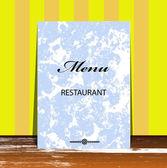 Menu de brochura para restaurante, café.vector — Vetor de Stock