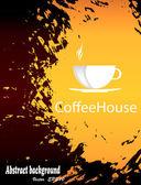 Menu de brochura para restaurante, café.coffee e chá. vector — Vetor de Stock