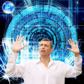 Innovative programming internet.Connect concept — Stock Photo