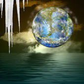 Global warming. Ecology concept — 图库照片
