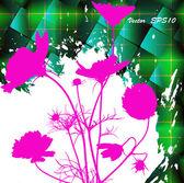 Flower holiday celebration card.Vector — Stock Vector