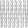 Metallic chain abstract background — Stockfoto