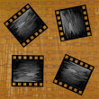 Retro cinematography.Abstract background — Stockfoto