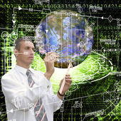Engineering astronomy research cosmos — Stock Photo