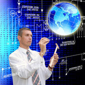 Innovative engineering-projektierung-kommunikation — Stockfoto