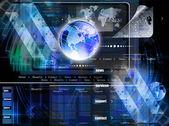 Programación internet web network.background — Foto de Stock