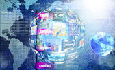 Programming Internet website network — Stock Photo