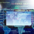 E-finance business.Internet — Stock Photo