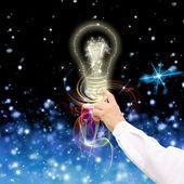 Tecnología innovadora en science.concept — Foto de Stock