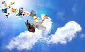 Innovative internet technologies E-business — Stock Photo