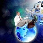 Innovative internet technologies E-business — Stock Photo #30941333