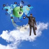 E-business. die neuesten internet-technologien — Stockfoto