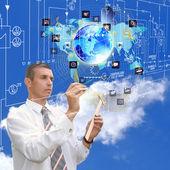 Engineering internet technologies — Stock Photo