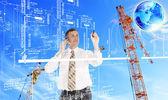 Engineering industrial designing technologies — Stock Photo