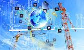 Engineering industial Internet technologies — Stock Photo
