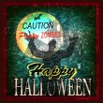 Halloween Zombie Party. Poster. Vector — Stock Vector #32520291