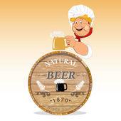 Beer.Octoberfest.Vector — Stock Vector