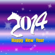 Creative Happy New Year 2014. Infographic Calendars. Vector — Stockvector #34036809