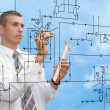 Engineering construction designing — Stock Photo #34040141