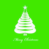 Abstract paper Christmas Tree Template Eve.Background.Vector — Stockvector