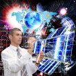 The technology Internet — Stock Photo