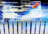 Programming computers cloning people future — Stock Photo