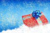 Neues Jahr Geschenk boxes.merry Weihnachten — Stockfoto