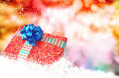 New Year Gift boxes.Merry Christmas — Stock Photo