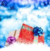 Merry christmas.new jaar cadeau voor kerst — Stockfoto