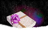 Gift box.Surprise in New Year Holiday — Stockfoto