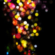Abstract background.Holiday.Party. Golden Abstract Backdrop with Lights — Stock Photo