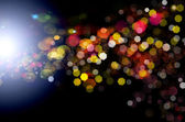 Abstract background.Holiday. Golden Abstract Backdrop with Lights.Party — Stock Photo
