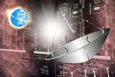 Cosmic Engineering Research.Science — Stock Photo