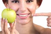 Healthy White Smile Teeth — Stock Photo