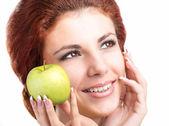 White Smile healthy Teeth — Stock Photo