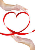 Valentine Heart.Holiday Concept — Stock Photo