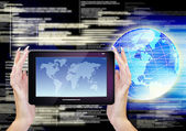 Computing Internet Technology — Stock Photo