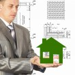 Foto Stock: Engineering Construction Designing