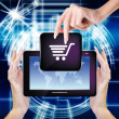 E-commerce.E-Shopping — Stock Photo #41427497